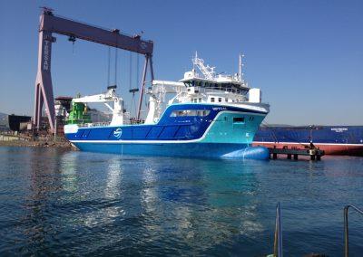 NSK Shipping NSK 1602 Høydal pellets vessel-silo