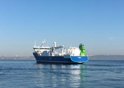 NSK Shipping, NSK 3433 «Nyksund» pellets vessel